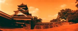 HORIZONとRedScale100で熊本城宇土櫓を撮影